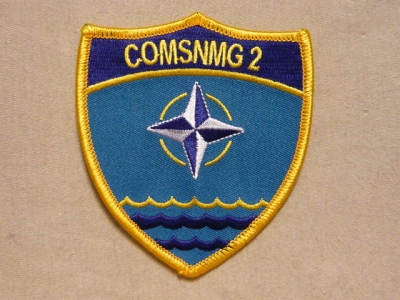 Gallery - Category: NATO patches and badges - Image: COMSNMG 2
